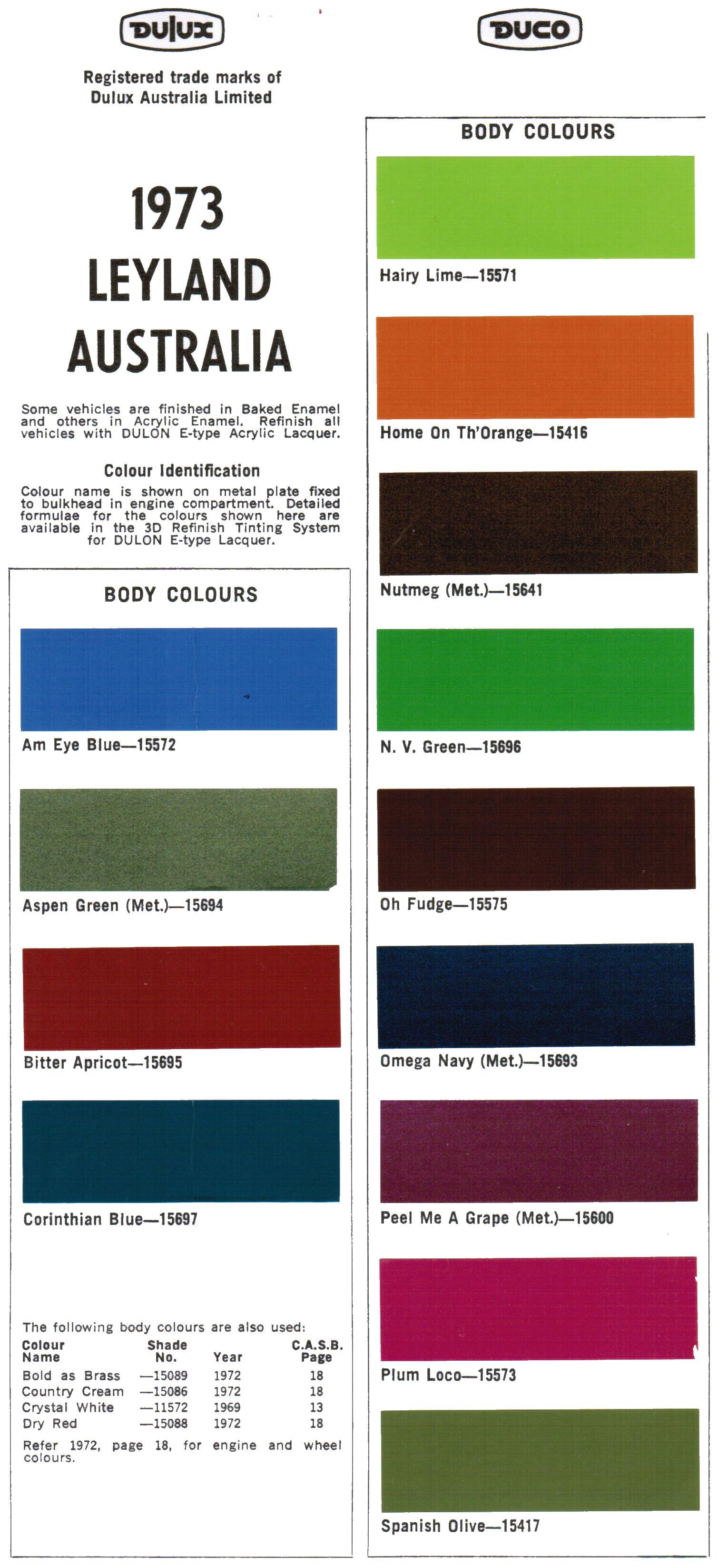 Leyland paints colour chart - Leyland Paints Colour Chart 11
